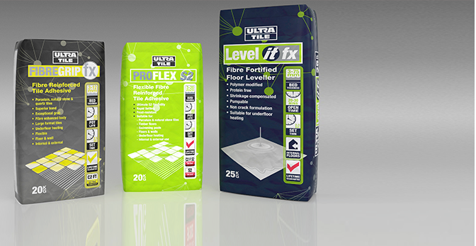 Tile Adhesives, Levellers & Grouts
